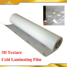 Brand New Cold Laminating Film for Laminator 3D Texture Cat eye 0.69x21Yard 3Mil