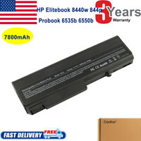 NEW Battery for HP Elitebook 8440P 8440W ProBook 6450B 6455B 6540B 6545B 6550B