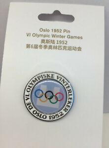 Oslo 1952 Winter Olympics Pin