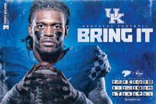 2019 KY University of Kentucky Wildcats Football Schedule/Poster Terry Wilson