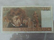 France billet 10 francs 1975 type Berlioz