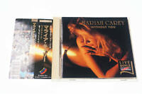 LIVE WORLD MARIAH CAREY AKD-3 CD JAPAN OBI A12001