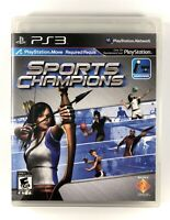 ✨FREE SHIPPING✨ Sports Champions (Sony PlayStation 3, 2010) PS3 Complete CIB VG