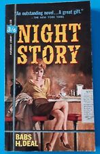 Vintage BABS H DEAL NIGHT STORY Noir Crime Thriller PB PAPERBACK BOOKS