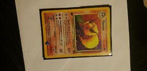 POKEMON CARD Flareon jungle holo 1st edition. 3/64. NM.