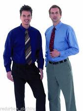 Polyester Short Sleeve Regular Long Formal Shirts for Men