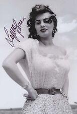 Sophia Loren original signiertes Foto 20 x 30 cm