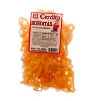 EL CERDITO DURITOS Rueditas 85 gr. (Wheat Flour Snacks)