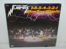 GARY TOMS EMPIRE 7-6-5-4-3-2-1 Blow Your Whistle 1975 FACTORY SEALED LP PIP 6814