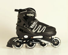 New Woolitime InLine Skates With Light Up Wheels - Large Youth