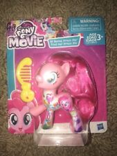 """My Little Pony The Movie All About Pinkie Pie 3"""" Doll Figure w/ comb"""
