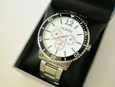 Kenneth Cole Unlisted Mens Stainless Steel Watch UL6675