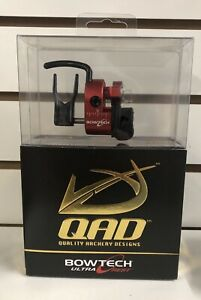 NEW QAD ULTRA PRO SERIES HDX BOWTECH RED ARROW REST RIGHT HANDED