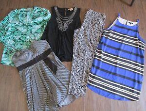 BULK LOT LADIES CLOTHES SIZE 12/M BRAND NAMES