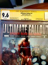 Ultimate Fallout 4 1st Print  1st App Miles Moralez  CGC 9.6 signed