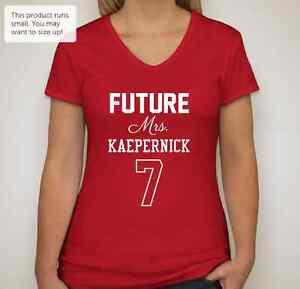 NFL San Francisco 49ers Women's Mrs. Kaepernick T-Shirt / V-Neck