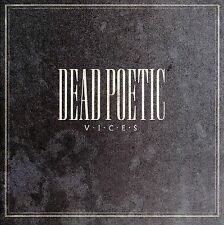 Dead Poetic : Vices CD (2006)