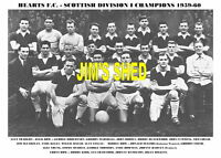 HEARTS F.C.TEAM PRINT 1959-60 (SCOTTISH LEAGUE CHAMPS)