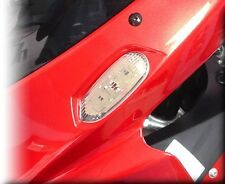 Hotbodies Front Turn Signals GSXR 1000 750 600 2006-2013 CLEAR FREE SHIP