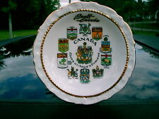 Banff, Canada Coats Of Arms And Emblems Of Provences Pin Dish With And Crests