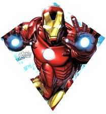 "New X-Kites Avengers Assemble Iron Man Sky Diamond 23"" Poly Kite FAST FREE 🛳"