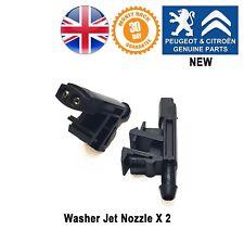 Peugeot Partner 96-09 Windscreen Washer Jet Nozzles 643889 New X 2