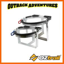 OZTRAIL CAMPER TRAILER 4.5KG GAS BOTTLE HOLDER POWDER COAT FINISH