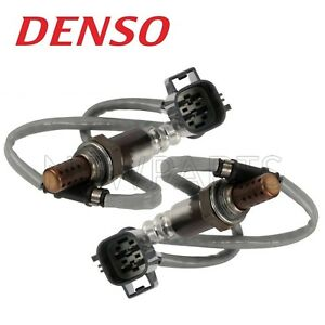 Pair Set of 2 Oxygen Sensor Denso MHK500870 For Land Rover LR3 Range Rover/Sport