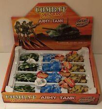Combat Mission Army Tank Toy - Die Cast Metal & Plastic