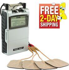 Portable Electric Massage Pulse Muscle Stimulator Machine Pain Relief Management
