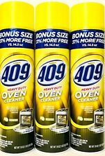3 Cans Formula 409 19 Oz Heavy Duty Oven Cleaner Lemon Scent Cuts Tough Grease