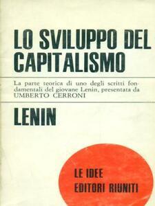 LO SVILUPPO DEL CAPITALISMO  LENIN EDITORI RIUNITI 1975 LE IDEE