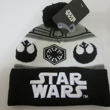 New Star Wars Logo HAT CAP Knit Winter Black HAT Beanie Skullcap Cosplay Hat