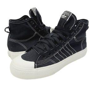 Adidas Originals Nizza Hi RF Black White Hi Top Sneaker Shoes Men's 7.5 F34057