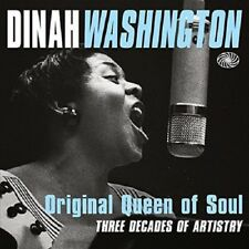 Dinah Washington Original Queen Of Soul 3-CD NEW SEALED R&B/Blues/Jazz