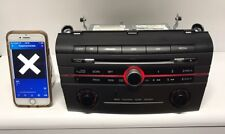 07-09 MAZDA 3 RADIO STEREO CD 6 PLAYER BAP966ARX. BLUETOOTH CAPABLE OEM STEREO