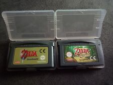 LOTE GBA ZELDA Game Boy Advance LINK TO THE PAST + A MINISH CAP
