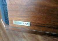 Allison Acoustics Four Speaker RARE Vintage Loudspeaker