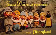 Disneyland Postcard Snow White and The Seven Dwarfs, D-4~117133