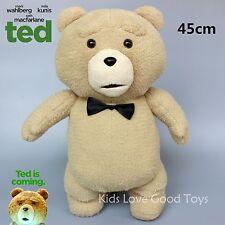 New Movie TED the Bear with Bow Tie Plush Doll Soft Toys Cute Teddy Bear 45cm