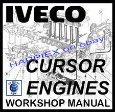 IVECO CURSOR ENGINE TRUCK WORKSHOP SERVICE REPAIR MANUAL (STRALIS, EUROSTAR)