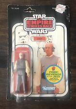 1982 Kenner Star Wars Lobot Empire ESB Figure Clear Bubble 48 Back MOC Revenge
