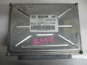 2000 Isuzu Rodeo 3.2L Engine Control Unit ECU 8093935490
