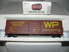 Proto 1000 HO scale 23946  50' High Roof Box Western Pacific 4057