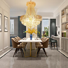 K9 Crystal Chandelier Luxury Pendant Lamp Ceiling Light Lighting Fixture 40*50CM