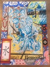 "2017 Perna Studios ""Elementals"" Water By Achilleas Kokkinakis Sketch Card 1/1"