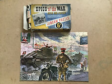 Vintage Epics Of The War Jigsaw Puzzle No4 British Expeditionary Force