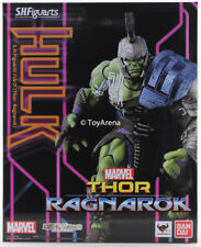 S.H. Figuarts Hulk Thor: Ragarok Action Figure Bandai USA Seller IN STOCK