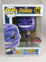 Marvel Funko Pop - Thanos (Metallic) - Avengers Infinity War - No. 289