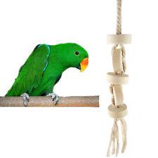 Mode Vogel Papagei Sittich Wellensittich Käfig Chew Spielzeug Spielzeug Neu